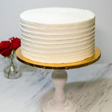 Double Height Wedding Cake